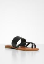 ALDO - Celodia leather sandal - black