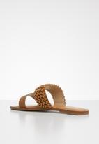 ALDO - Eowenassa sandal - cognac