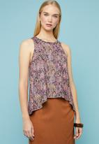 Superbalist - Printed relaxed vest - multi