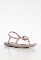 Ipanema - Ellie fem T-strap sandals - pink