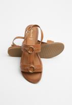 ALDO - Adeindra sandal - cognac