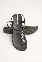 Ipanema - Classic glam ii fem - black/silver