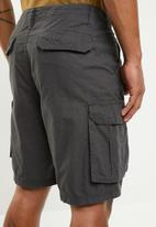 Brave Soul - Riverwop Cargo shorts - charcoal