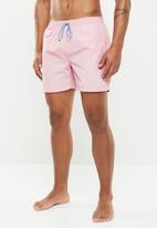 Brave Soul - Pier swim shorts - pink