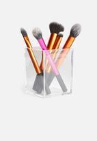 Eleganza - Make-up brush organiser small - clear