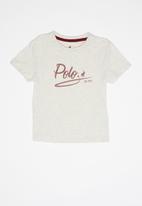 POLO - Girls jada printed short sleeve tee - multi