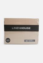 Linen House - Suedette bedwraps - linen
