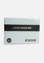 Linen House - Suedette bedwraps - duck egg