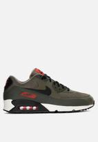 Nike - Air Max '90 Essential - medium olive/black-team orange