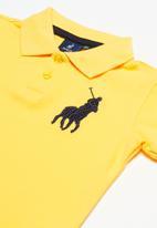 POLO - Boys austin short sleeve golfer - yellow