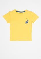 POLO - Boys rick short sleeve tee - yellow