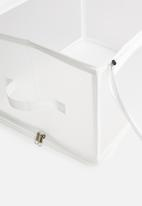 Storage Solutions - Collapsible storage - white