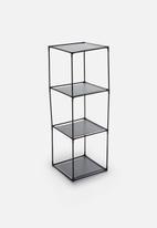 Storage Solutions - Single storage shelf - black