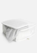 Storage Solutions - Small collapsible storage box - white