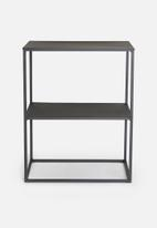 Sixth Floor - Newton bedside table - black