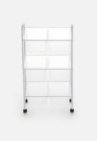 Bathroom Solutions - Multi-tier bathroom trolley - white