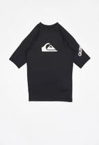 Quiksilver - All time short sleeve youth - black