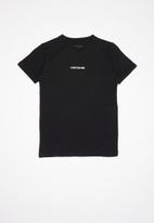 Quiksilver - Checker out short sleeve youth - black