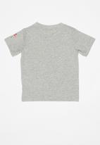 Nike - Air box logo short sleeve tee - grey