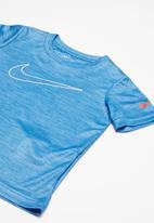 Nike - Faux crossdye swoosh - blue