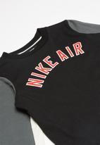 Nike - Long sleeve top - black & grey