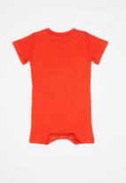 Nike - Short sleeve romper - red