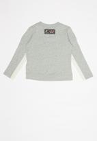 Nike - Long sleeve top - grey & white