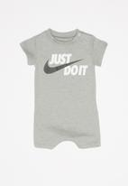 Nike - Baby knit romper - grey