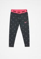 Nike - Swooshfetti legging - black