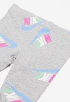Nike - Toss tunic & tights set - grey & pink