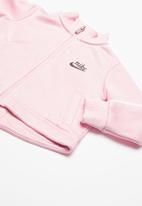 Nike - Icon jacket & pant set - pink
