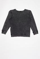 Cotton On - License crew - black