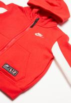 Nike - Nike air track top & jogger set - red & white