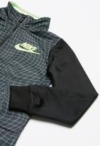 Nike - Warp grid tricot set - black & grey