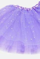 POP CANDY - Mesh skirt - lilac