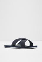 ALDO - Araysen flip-flops - navy