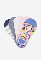 Cotton On - 5 pack low sock - multi