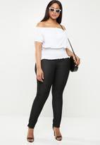 New Look - Off the shoulder T - white
