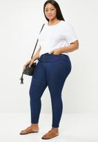 New Look - Mid blue skinny jeans - blue