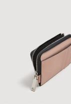 MANGO - Multiple compartment cardholder - pink