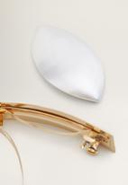 MANGO - Hairclip 2 set - gold