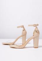 Cotton On - Faux leather heels - neutral