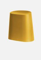 Present Time - Relish stool - ochre