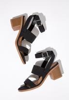 Cotton On - Faux leather heels - black
