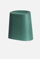 Present Time - Relish stool - green