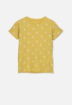 Cotton On - Penelope short sleeve tee - yellow