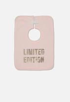 Cotton On - The everyday bib - pink