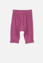 Cotton On - Lucas pants - pink