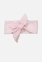Cotton On - The tie headband - pink
