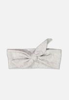 Cotton On - The tie headband - grey
